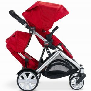 Britax B-Ready Stroller with second seat, bassinet, and car seat attachment for Sale in Seattle, WA