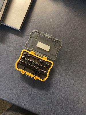 Dewalt screw bits for Sale in Rexburg, ID