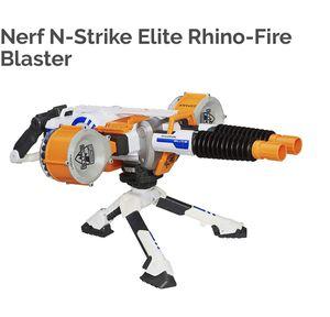 NERF Elite Rhino Fire Large Blaster Gun for Sale in Frankfort, IL