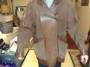Suede/leather coat for Sale in Dallas, TX