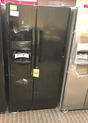 Brand New Frigidaire Side by Side Black Refrigerator 1VI for Sale in Fort Worth, TX