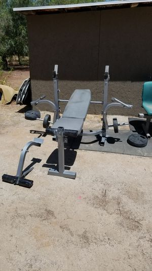 Tsa-5688 Weight Bench Press for Sale in Riverside, CA