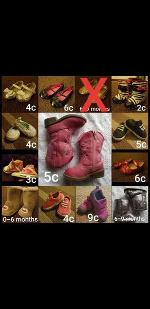 Baby-Toddler shoes/boots for Sale in San Antonio, TX