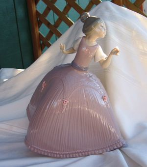 "Retired Lladro figurine, ""Rose"", Item #01005120. Introduced 1982, retired 1985 for Sale in Tacoma, WA"
