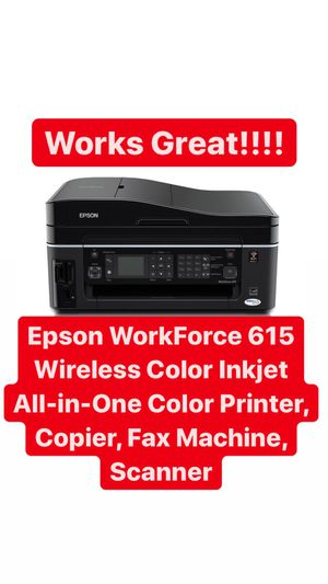 Epson WorkForce 615 for Sale in Wildomar, CA