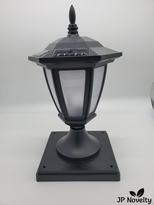 (8 Pcs) NEW-FROSTED Black Solar Hexagon Light - Fence - Post for Sale in Fullerton, CA