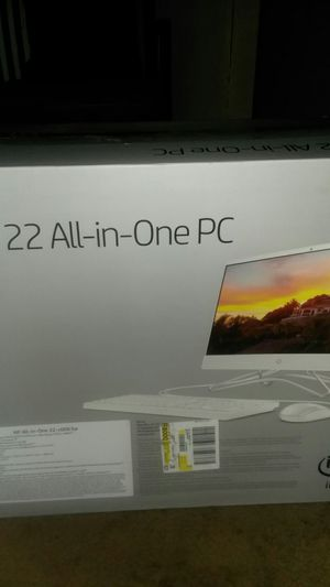 "22"" Hp All In One PC (HP All-in-one 22 -c0063w) for Sale in St. Louis, MO"