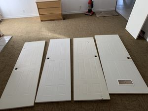 Interior doors 24x80 and 28x80. 100 negotiable for Sale in Odessa, TX