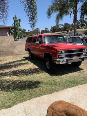1991 suburban 4x4 6lugs 5.7 auto for Sale in San Diego, CA