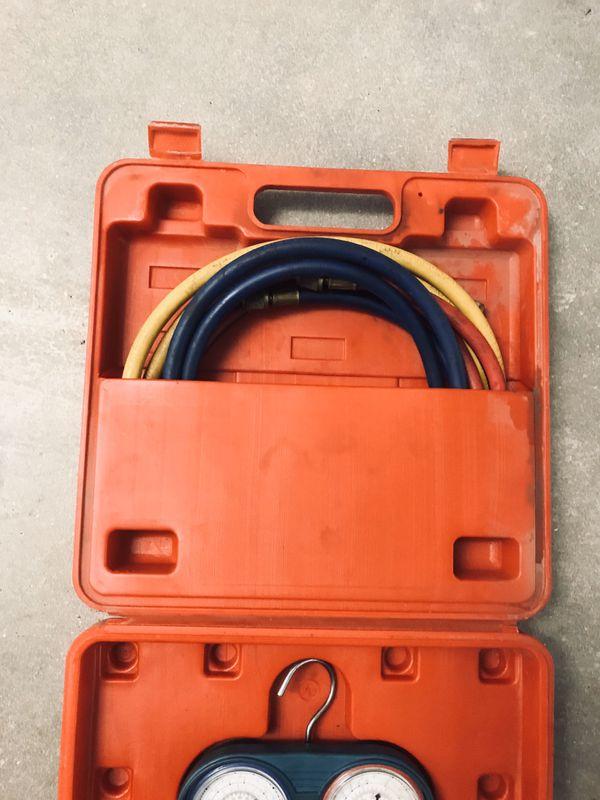 R134a a/c Freon gauges