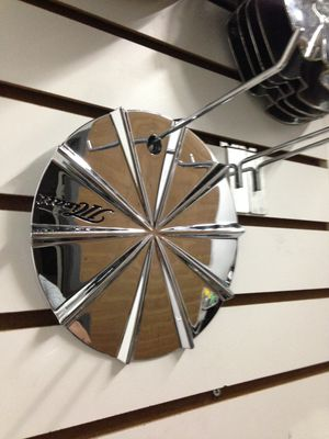 Mizati Wheels Center Cap Chrome Custom Rim Mid Hubcap Cover Used I-CAP LG Used (1 CENTER CAP) for Sale in Phoenix, AZ