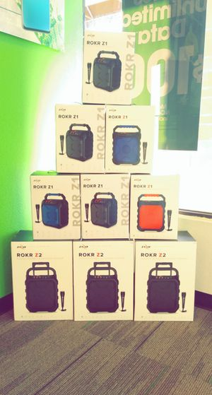 Zizo Rockr Bluetooth Speaker for Sale in Wichita Falls, TX