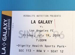 LA Galaxy v LAFC tix! for Sale in Seal Beach, CA