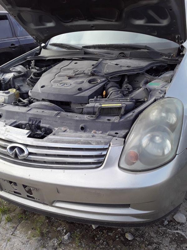 2003 Infiniti G35 Sedan for parts