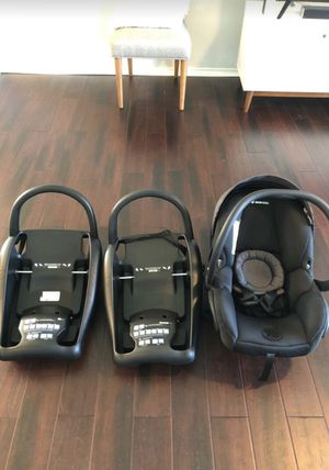 Maxi Cosi Baby Seat with two Bases for Sale in Houston, TX