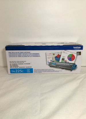 Brother OEM TN-225c Cyan Toner Cartridge New and Sealed for Sale in Garden Grove, CA