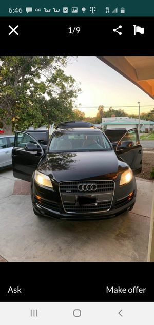 Clean title 2007 audi q7...129.000miles,very clean and new....want sale really buyer and cash only for Sale in Westminster, CA