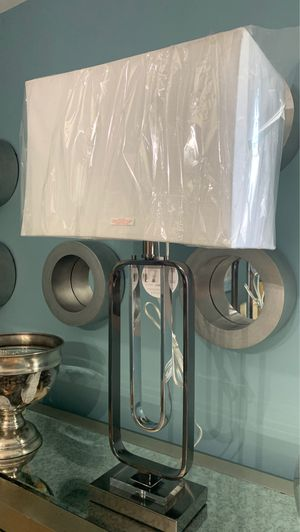 Beautiful crystal black lamp for Sale in Olive Branch, MS