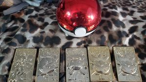 24 k plated pokemon cards for Sale in Tualatin, OR