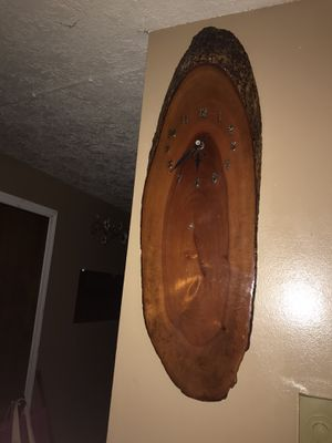 Wood Clock for Sale in Portland, OR