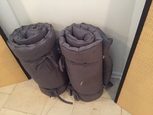 2 traditional Japanese tatami mats with futons for Sale in Washington, DC