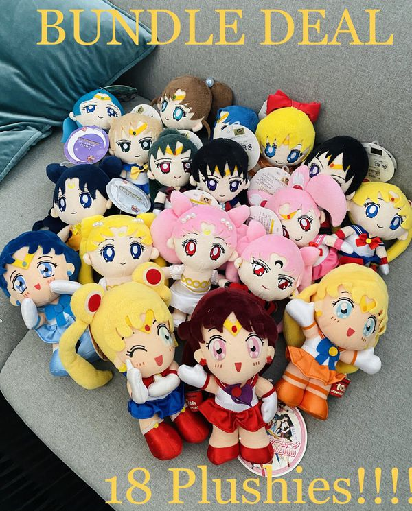🌙💖VINTAGE SAILOR MOON ANIME 10th & 20th COLLECTOR ANNIVERSARY SPECIAL BUNDLE DEAL