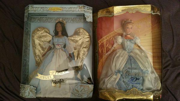 10 barbie dolls