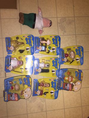 Family guy action figure collection for Sale in Wallingford, CT
