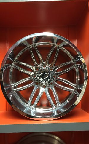 22x12 WHEELS,8 Lug ,8x170, Ford F-250 ,ONLY $40 DOWN‼️ for Sale in Houston, TX