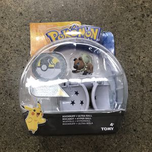 POKEMON ROCKRUFF & ULTRA BALL TOMY for Sale in Chula Vista, CA