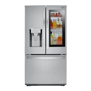 Lg 26 cu. ft. 3-Door French Door Smart Refrigerator with InstaView Door-in-Door in Stainless for Sale in Seattle, WA