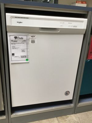 New Whirlpool White Heavy-Duty Dishwasher ! for Sale in Chandler, AZ