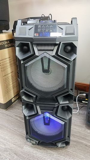 Dual Woofer Portable Bluetooth Speakers for Sale for Sale in Carrollton, TX