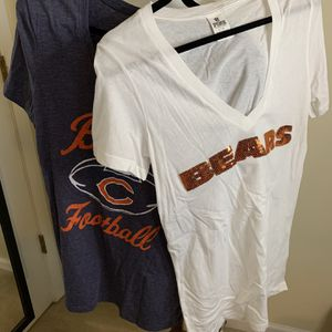 2 Chicago bears Tops for Sale in Grayslake, IL