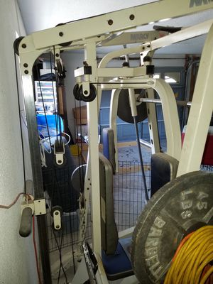 Marcy diamond elite rack and weights for Sale in Cheney, KS