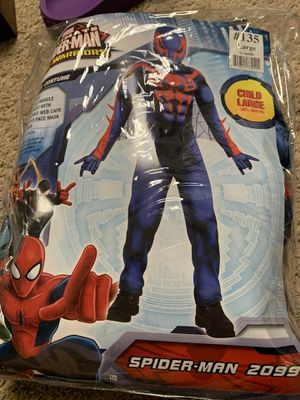 Kids Spider-Man Costume Size Large for Sale in Zelienople, PA