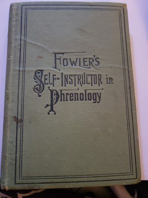 1895 Fowlers Self-instructor in Phrenology for Sale in Wheaton, IL