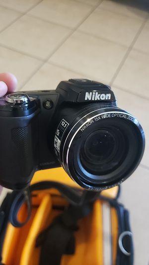 Nikon Coolpix L110 12.1MP Digital Camera with Bag for Sale in Miami, FL
