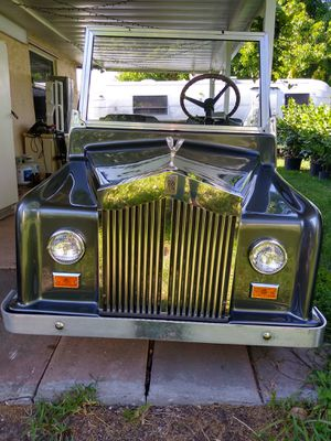 Spectacular golf cart Rolls Royce⛳⛳⛳👍 for Sale in Miami, FL