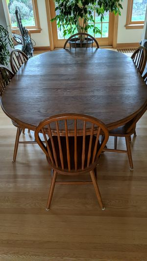Dining table and chairs for Sale in Portland, OR