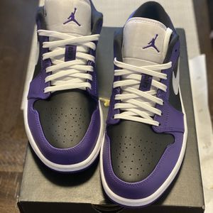 Air Jordan 1 Low (Court Purple) for Sale in Tigard, OR
