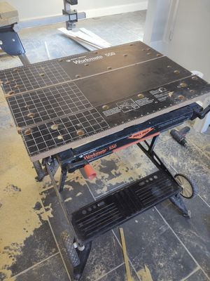 Workmate 550 portable workbench table saw chopsaw for Sale in Boston, MA