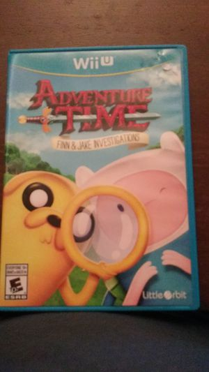 Adventure Time Nintendo Wii U for Sale in Bonita, CA