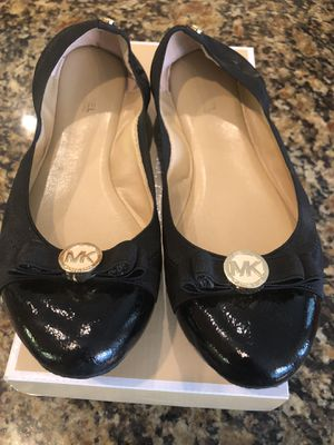 Michael Kors black ballet flats for Sale in NEW PRT RCHY, FL