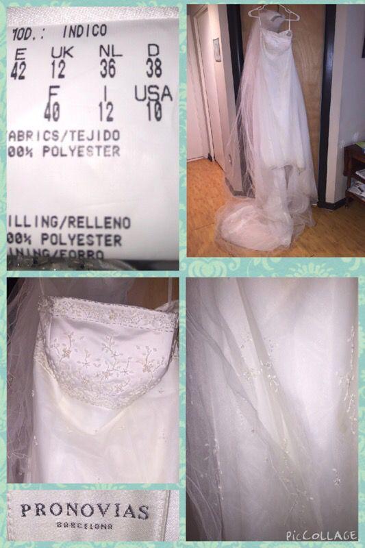 Pernicious Barcelona wedding dress