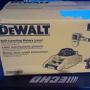 Dewalt Self Leveling Rotary Laser for Sale in Balch Springs, TX