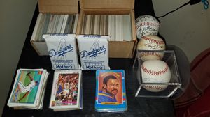 PREMIUM MLB/NBA/NFL Trading Cards & ×3 MLB Autograph Baseballs for Sale in Torrance, CA
