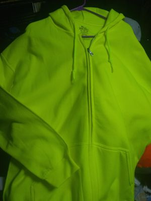 Fruit of the Loom Zipper Hoodie for Sale in Queens, NY