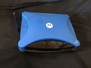 Motorola 3347 wireless modem/ Router for Sale in Phoenix, AZ