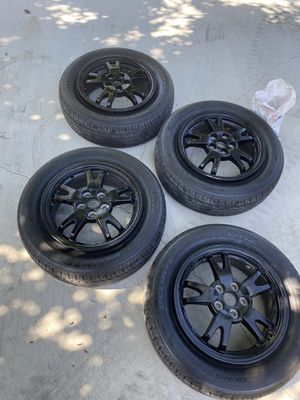 Toyota prius tires and rims 2010-2015 for Sale in Pasadena, CA